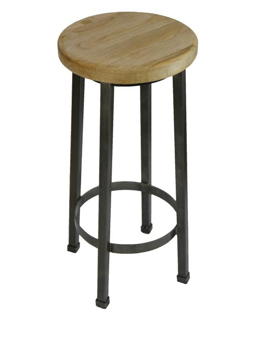 elm timber stool